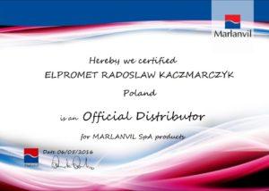 certyfikat-marlanvil